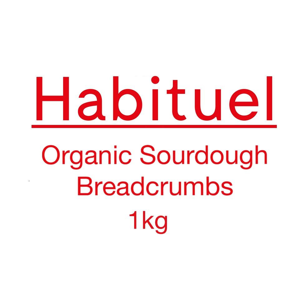Habituel Organic Sourdough Breadcrumbs, 1 KG