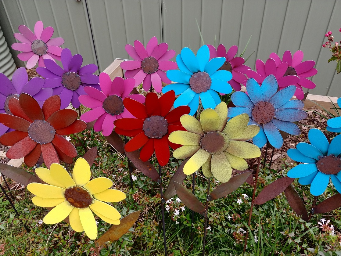 Forging Ahead -80cm mixed flowers