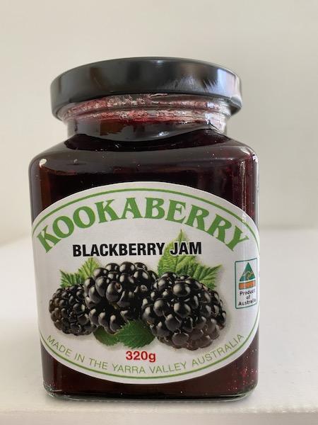 Kookaberry Blackberry Jam