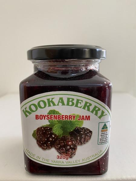 Kookaberry Boysenberry Jam