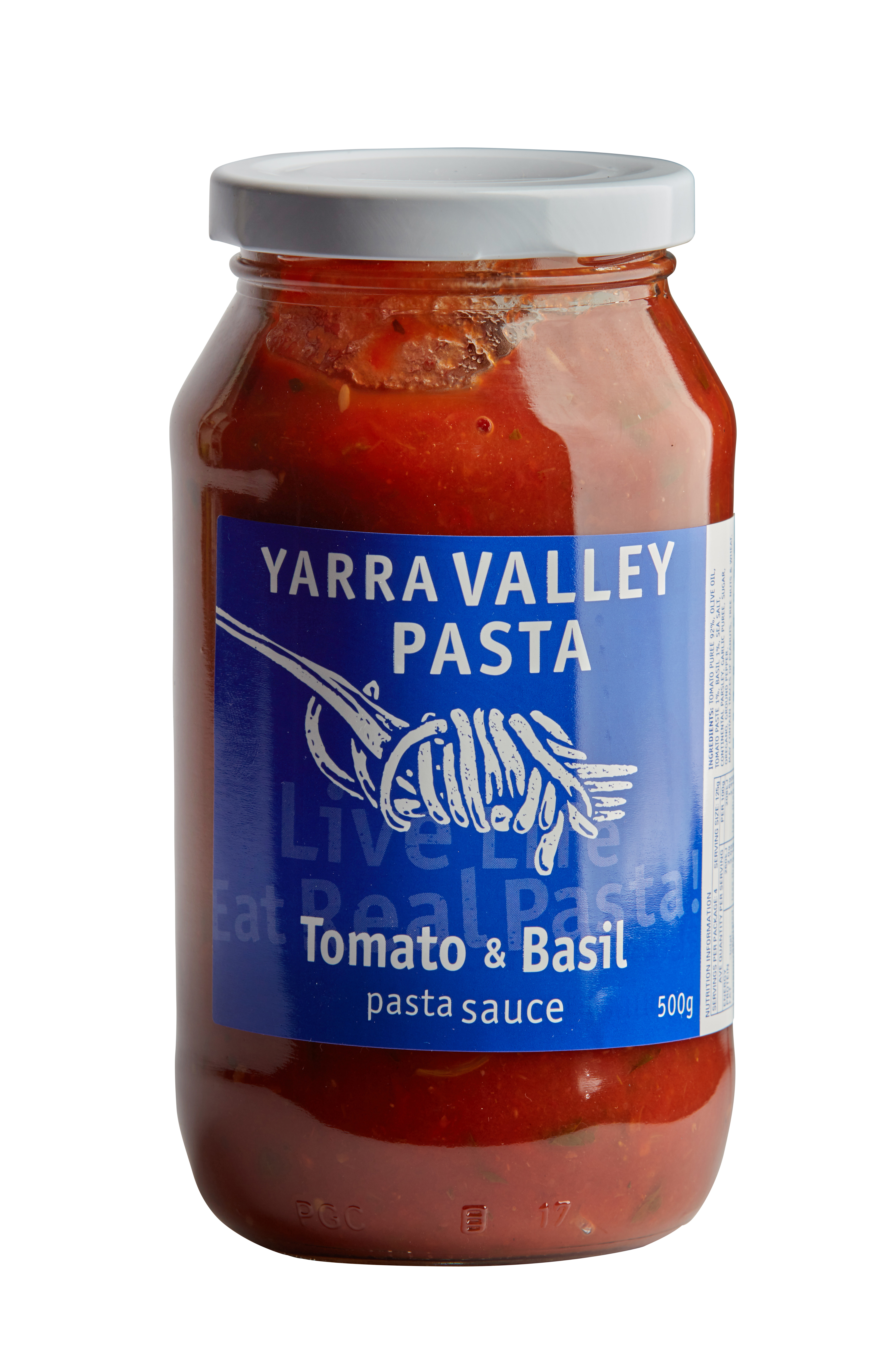Yarra Valley Pasta Tomato and Basil Sauce